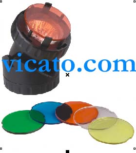 VICATO LIGHT FILTER KOI PL1LED